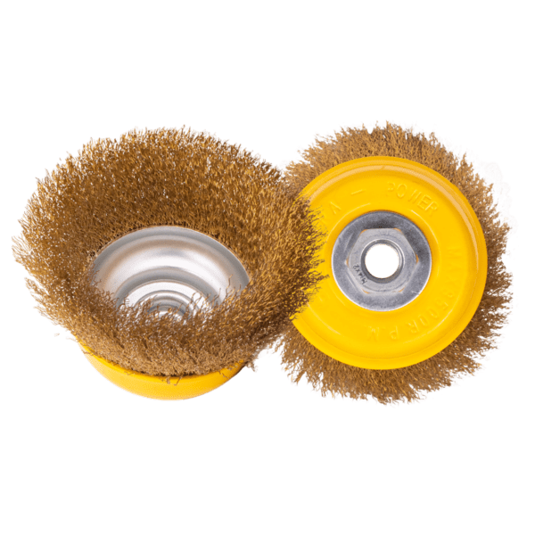 Abrasives crimped cup brush-1