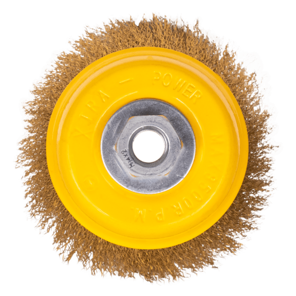 Abrasives crimped cup brush-3