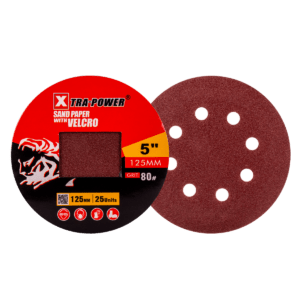 Abrasives sand paper with velcro-1