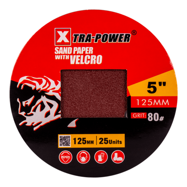 Abrasives sand paper with velcro-2