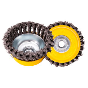 Abrasives twisted cup brush-1